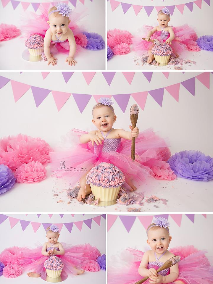 Sarah Tamworth Cake Smash Photography
