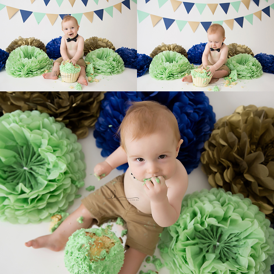 Leo 1st Birthday Tamworth Cake Smash Photographer Maternity